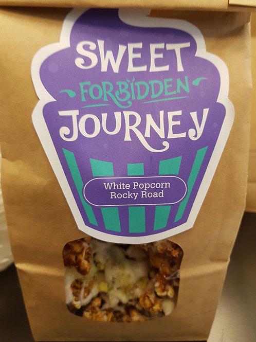 White Chocolate Popcorn Rocky Road