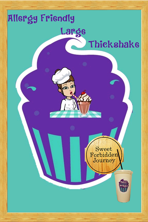 Allergy Friendly Large Thick Shake