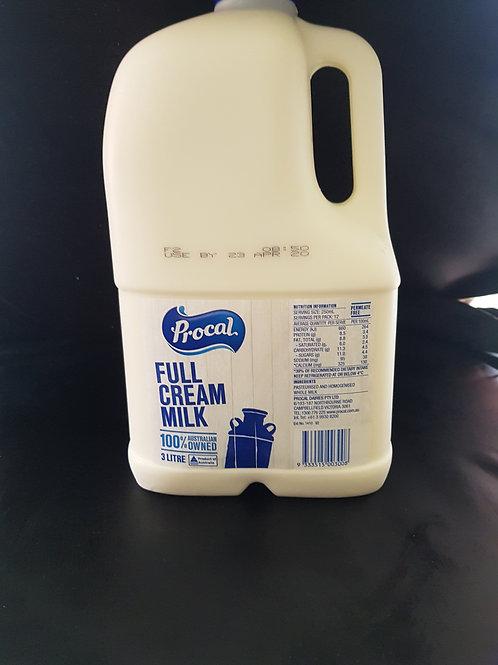 Milk 3 litre