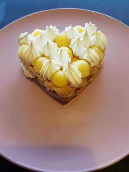 Lemon Meringue Pie Cookie Cake