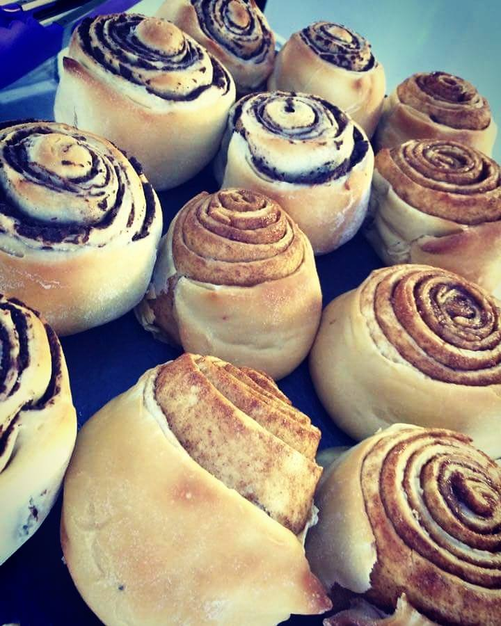 Cinnamon & Chocolate Scrolls