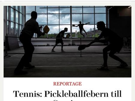 DI Weekend - Pickleballfeber i Sverige