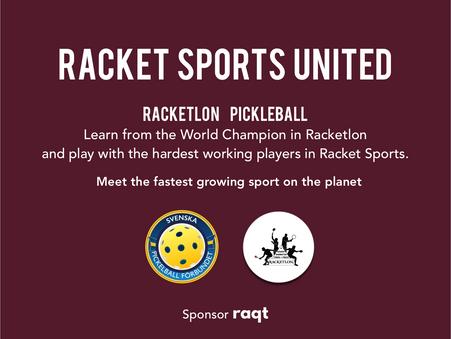 Pickleball i Stockholm - Racket Sports United - Racketlon & Pickleball