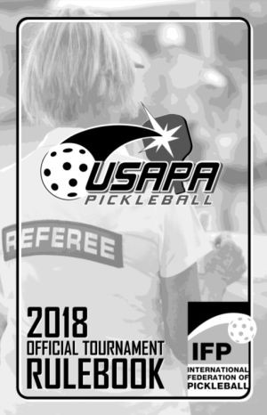 Pickleball regler / Usapa IFP 2018 Ruleebook
