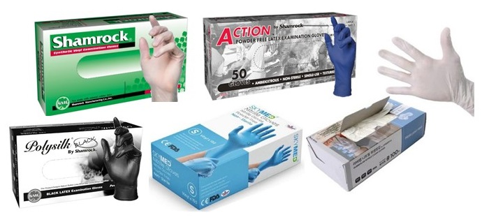 PPE - Medical Examination, Nonmedical & Lab Gloves