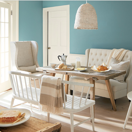 Colors of the Year from Benjamin Moore & Sherwin Williams