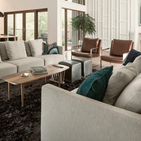 The art of arranging living room furniture.