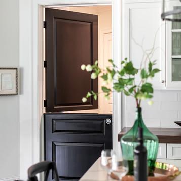 Dutch door, kitchen