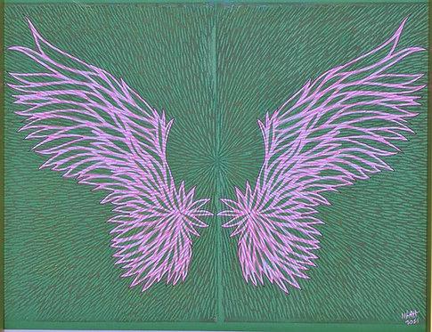 Spread Your Wings Framed V-B