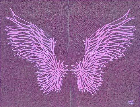 Spread Your Wings Framed II