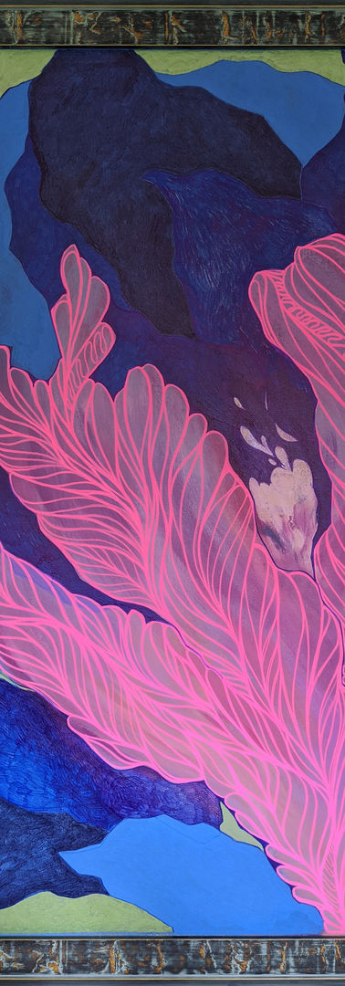 Neon_Pink_Flower_Blue