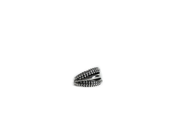 Cuff Dotted Earring