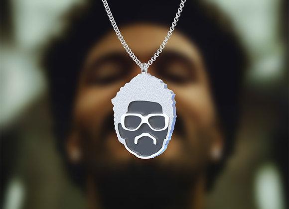 Abel Mustache pendant