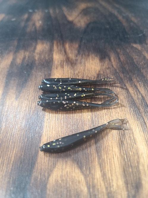 Black Gold/Copper Lucky Minnows