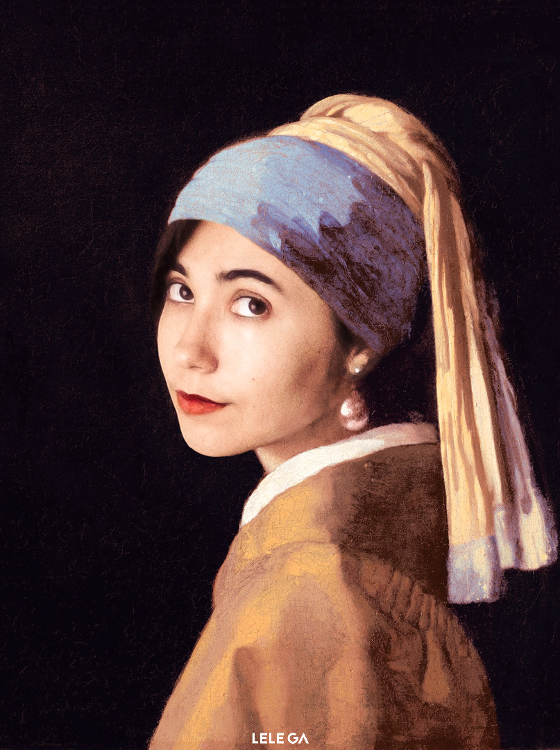 Lele with a Pearl Earring