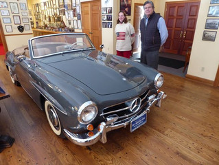 Classic car collection helps kids study the life of an entrepreneur