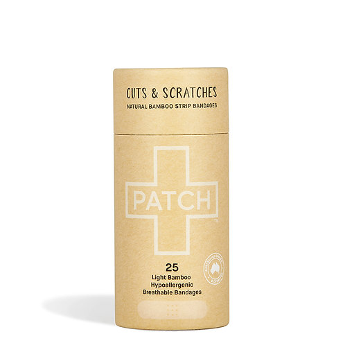 Patch - Organic bamboo plasters - natural