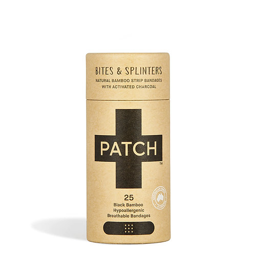 Patch - Organic bamboo plasters -activated charcoal