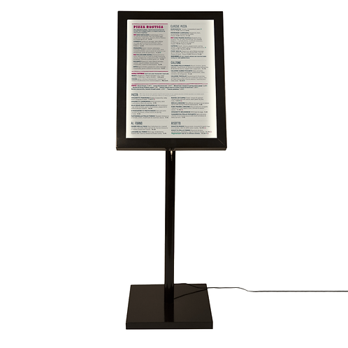 LED Menu Display Stand 4 Sheets