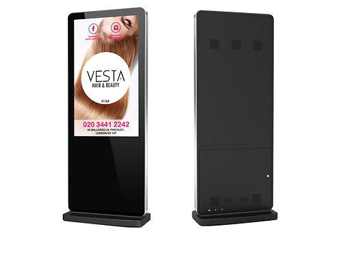 """Video Content & 55"""" Freestanding Digital Displays"""