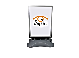 Outdoor A Board LED Poster Display - Rec