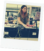 Dj Mixxtress playing at Dayshfit