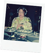 Dj Mixxtress at her firt gig playing on vinyl