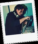 Dj Mixxtress playing on vinyl
