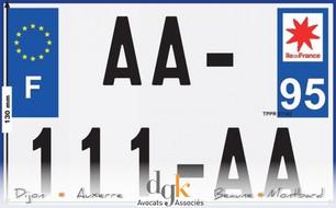 Nouvelles plaques pour les deux roues en 2017: tous concernés !