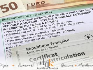 Véhicules d'entreprise et infractions routières: ce qui change au 1er novembre 2016