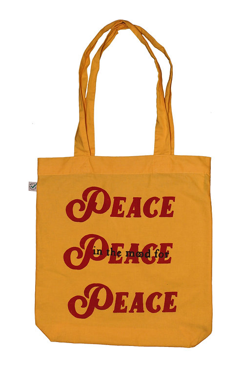in the mood for peace tote