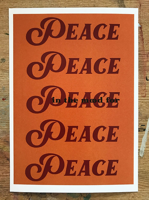 in the mood for peace print