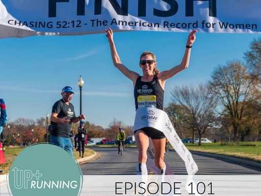 EPISODE 101: A Turkey Runs a 10K, a Treadmill Marathon + A Chat with Keira D'Amato