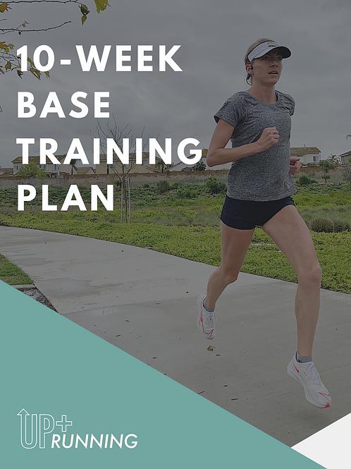 10 Week Base Training Plan