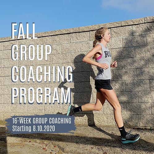 Fall 2020 Group Coaching