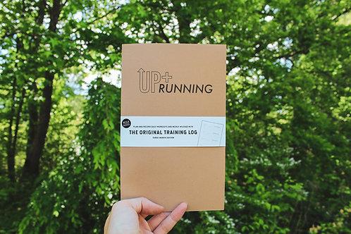 Up + Running x Mile Marker Training Log