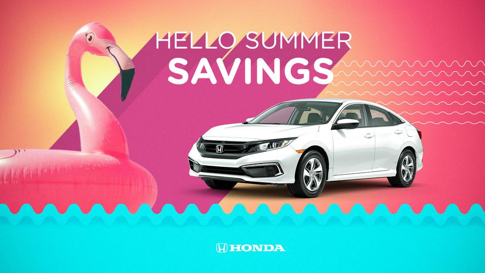 Honda: Dealer Summerbration Assets