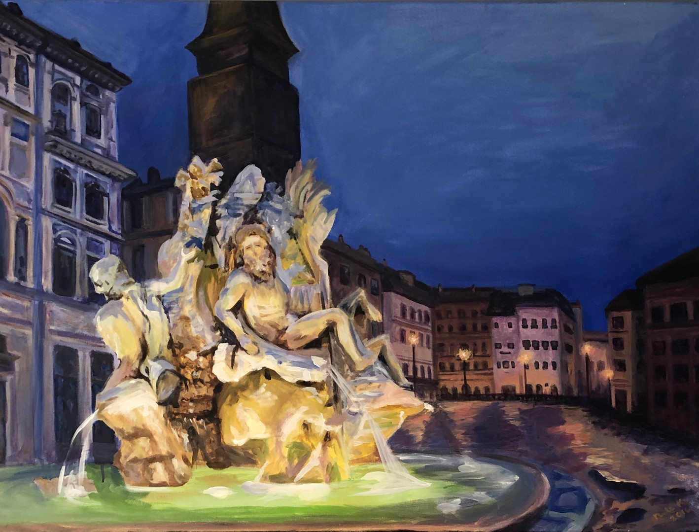Four Rivers' Fountain