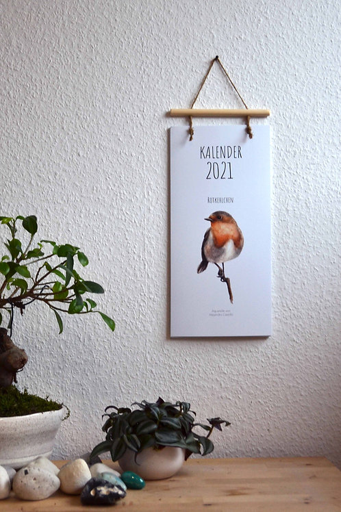Kalender Rotkehlchen