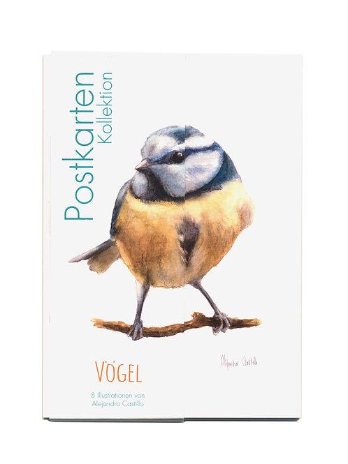 Postkarten Kollektion Vögel