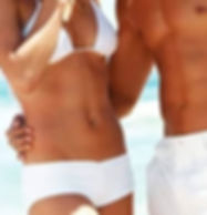 Laser hair removal is achieved with mult