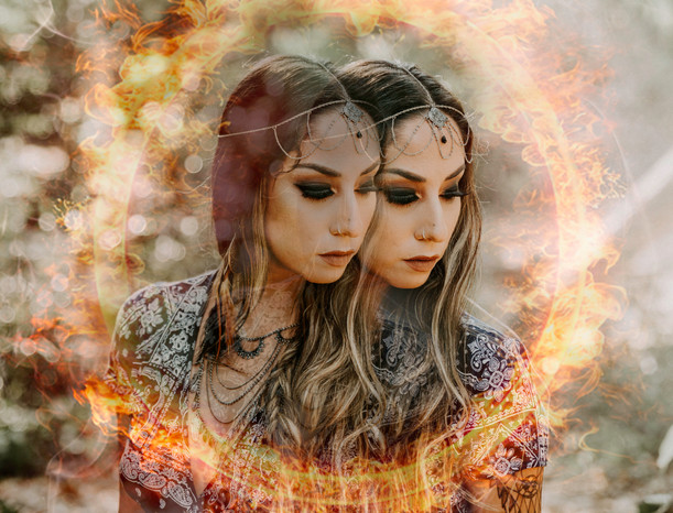Twin Flame Photo