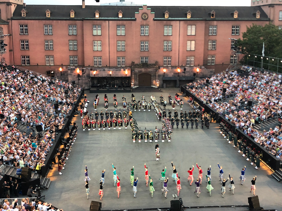 Pipes and Drums Basel Tattoo