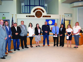 Oceanside City Council recognizes Rincon Tribal Council for Earth Day contribution