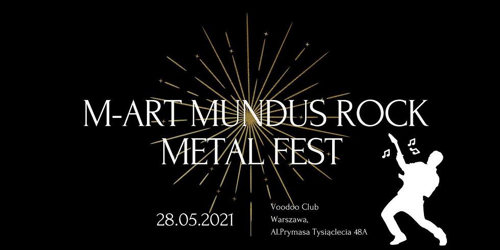 M-ART Mundus Rock Metal Fest 2021