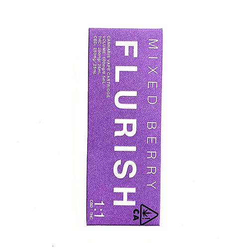 Flurish CBD/THC 500mg Cartridge