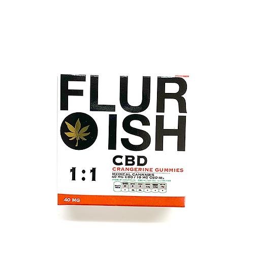 Flurish 1:1 CBD/THC 40mg
