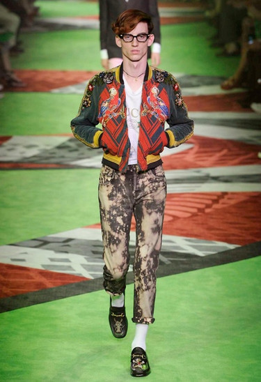 The 9 Best Looks from the Gucci SS17 Men's Show at Milan Fashion Week