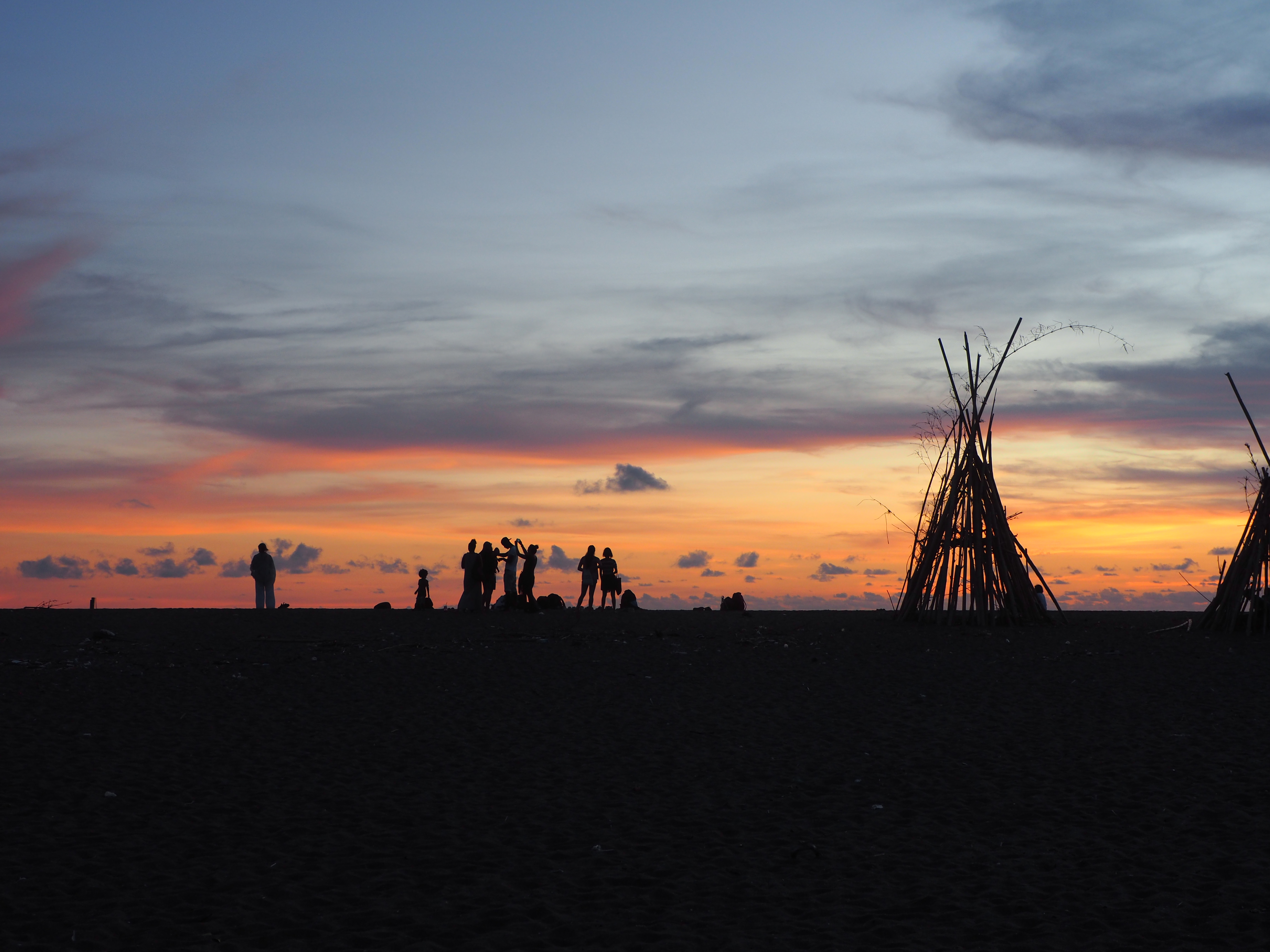 Beach Ocean Sunset Coastline 2