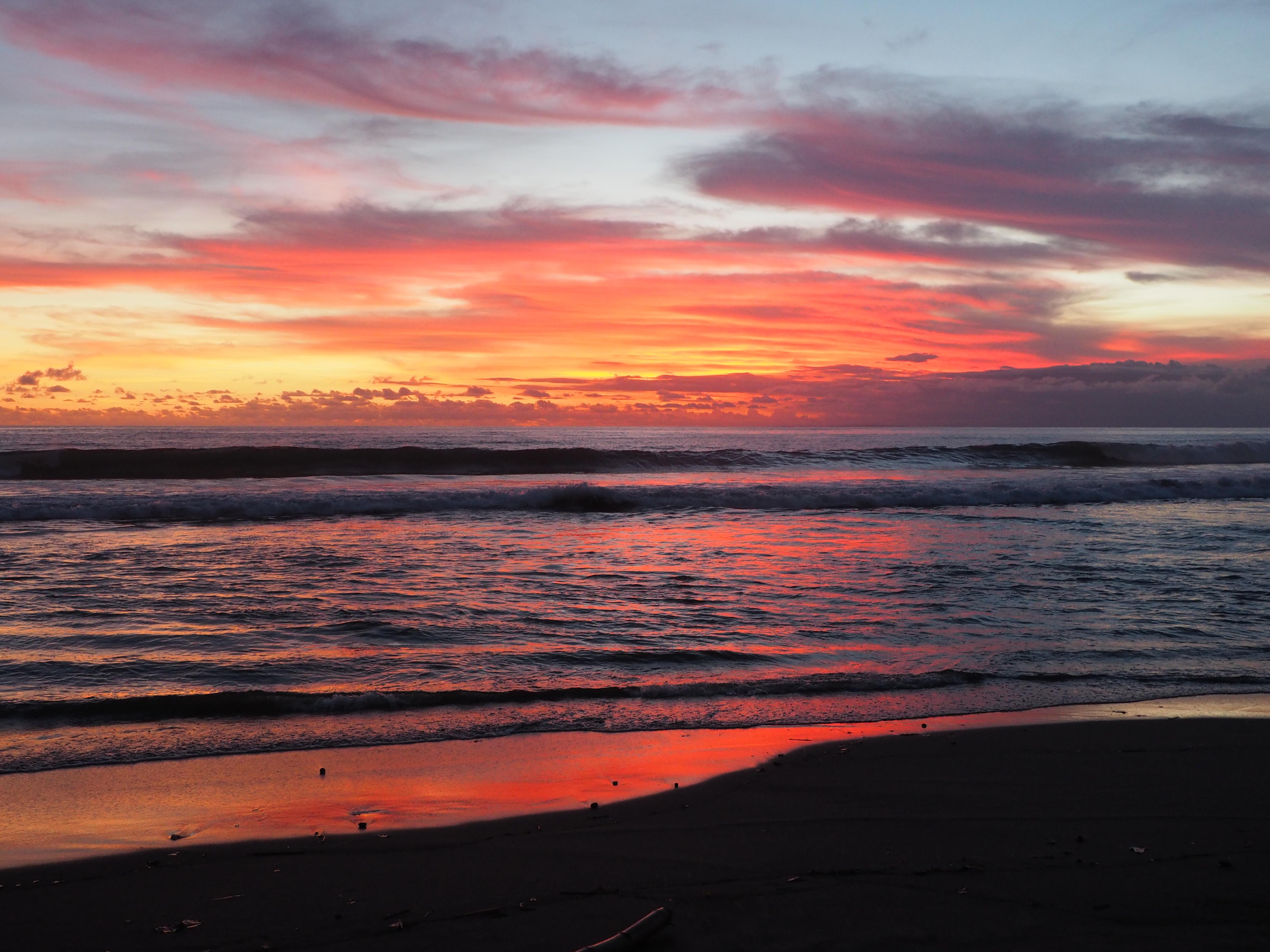 Beach Ocean Sunset Coastline 10